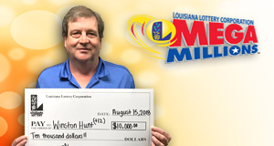 Winston Hunt and Friends won 10,000 playing Mega Millions