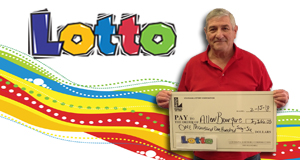 Allen Bourque won 1,166 playing Lotto