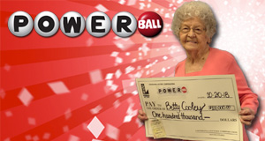Betty Cooley won 100,000 playing Powerball