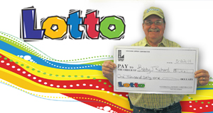 Bobby Joseph Richard's Lotto winner photo