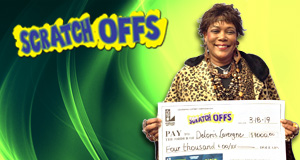 Deloris Lavergne won 4,000 playing Lucky 7