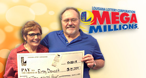 Elroy Doucet won 10,004 playing Mega Millions