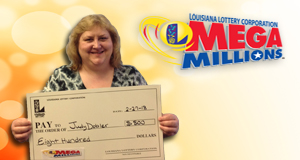 Judy Dobler won 800 playing Mega Millions