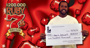 Eunice Man Wins Top Prize Of $200,000 On Lottery Scratch-Off
