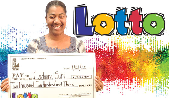 LaDonna Sam won 2,203 playing Lotto