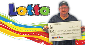 Leon Lejeune's Lotto winner photo