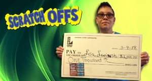 Lisa Lewinski won 1,000 playing Diamond Bingo