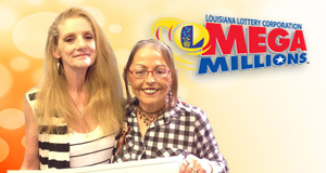 Rita Kay Sensat won 1,000 playing Mega Millions