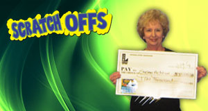 Susan Achten's Double-Up Dollars winner photo