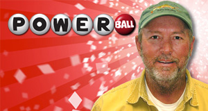 Marion Palmer's Powerball winner photo