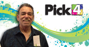 Samuel Lush Jr. won 2,600 playing Pick 4