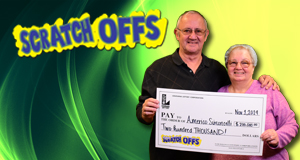 Thibodaux Couple Wins $200,000!