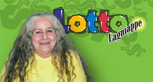 Dianne d'Aquin's Lotto winner photo