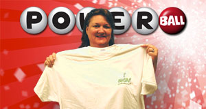 Jeanne Freeman's Powerball winner photo