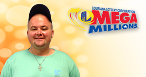 Matthew Boudreaux won 1,000 playing Mega Millions