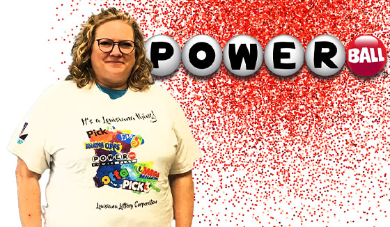 Reba Wright won 100,022 playing Powerball