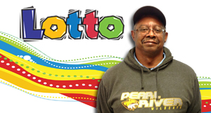 Steven Ellis won 1,333 playing Lotto