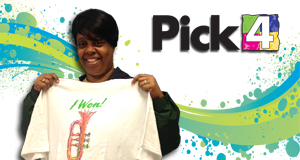 Tara Thomas won 13,500 playing Pick 4