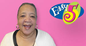 Elrecie Lewis won 60,000 playing Easy 5