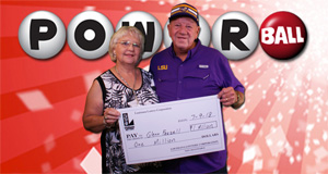 Glenn Feazell won 1,000,000 playing Powerball