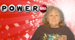 Patricia Thornhill's Powerball winner photo