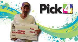 Ricky Vanhoof won 5,000 playing Pick 4