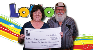 JoAnn Salvadras won 1,542 playing Lotto
