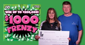 Wendy Mosier's $1,000 Frenzy winner photo