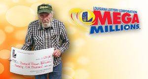 Ronald Brown won 25,000 playing Mega Millions