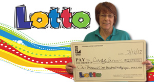 Cindy Greene won 1,198 playing Lotto