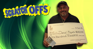 Daniel Migues won 100,000 playing Bank On It!