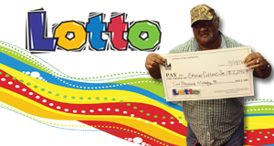 Ervin Collins Jr. won 2,090 playing Lotto