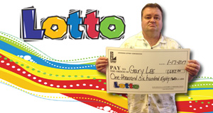 Gary Ray Lee, Jr. won 1,682 playing Lotto