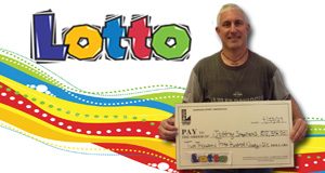 Jeffrey Stephens won 2,396 playing Lotto