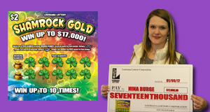 Nina Burge's Shamrock Gold winner photo