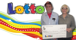 Paul Borden won 2,762 playing Lotto