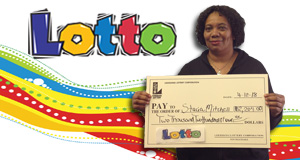 Stacia Mitchell won 2,204 playing Lotto