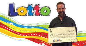 Steven Stein won 2,467 playing Lotto