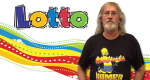 Eddy Crowell won 2,607 playing Lotto