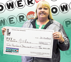 four mississippi coworkers claim $200,000 powerball prize