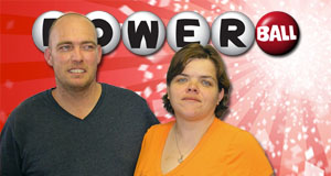 Sarah Pollard's Powerball winner photo
