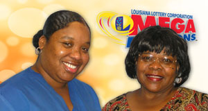Earline Vinnett won 2,500 playing Mega Millions