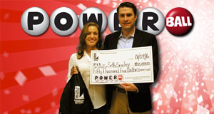 Seth Smiley won 50,004 playing Powerball