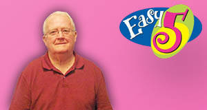 Richard Fell won 60,000 playing Easy 5