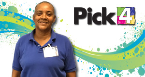 Annette Tobias won 2,900 playing Pick 4