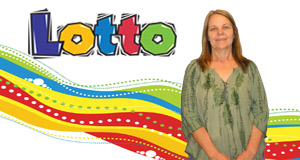 Peggy Guidry's Lotto winner photo