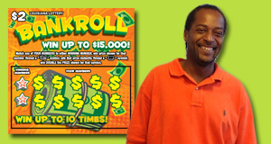 Anthony Taylor won 15,000 playing Bankroll