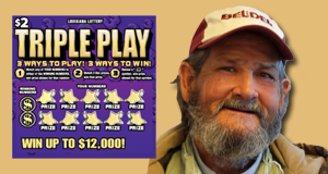 Billy LaForge won 12,000 playing Triple Play