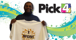 Dale Strickland won 2,700 playing Pick 4