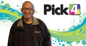 Edward Gurley won 11,400 playing Pick 4